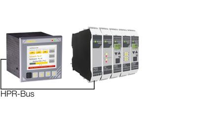 Anbindung mit Powermodul HE 5850