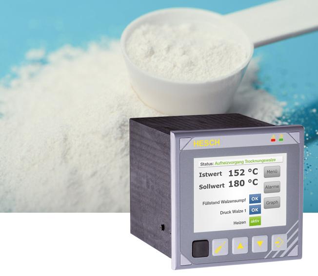 Multifunktionscontroller im Einsatz bei der Casein Produktion